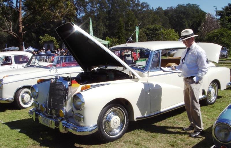 Conheçam o Clube Mercedes de New South Weles, (Austrália) German27