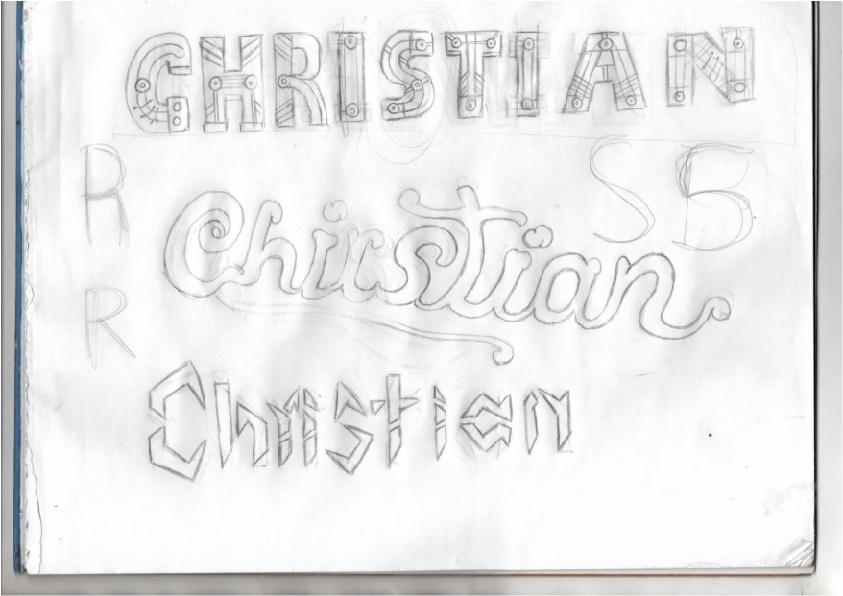 Lettering Fotos a elegir (Christian Julián Molano Img00110