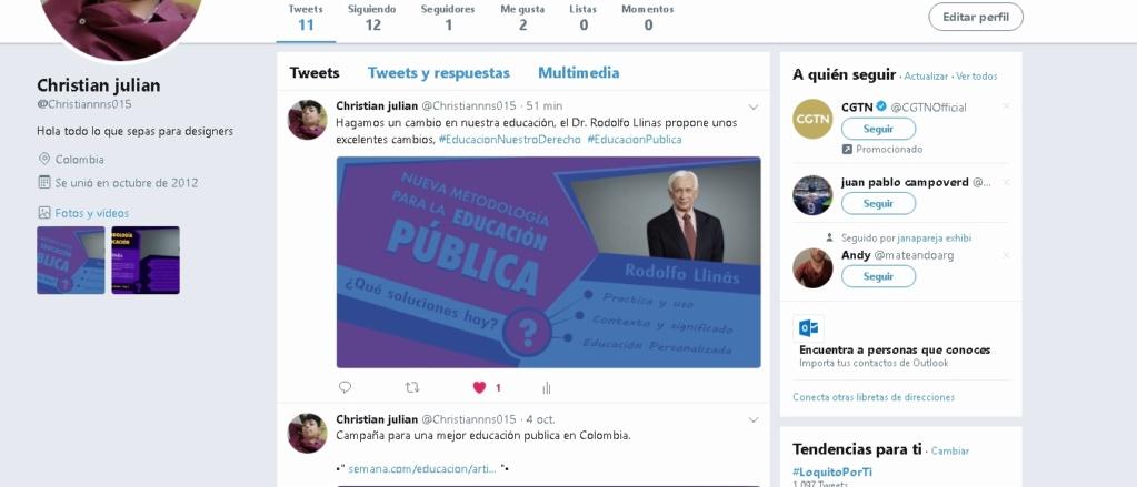 Bocetos aviso twitter/  Christian Julian Molano  Qq10