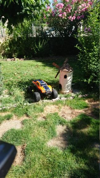 Xmaxx orange mécanique  Dsc_0065
