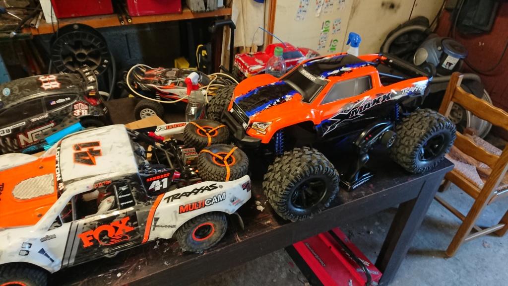Xmaxx orange mécanique  Dsc_0066