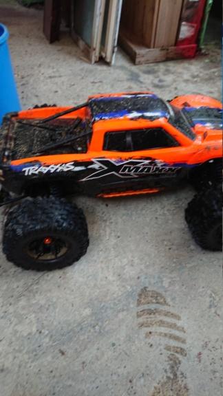 Xmaxx orange mécanique  Dsc_0072
