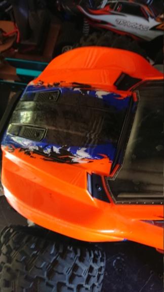 Xmaxx orange mécanique  Dsc_0078