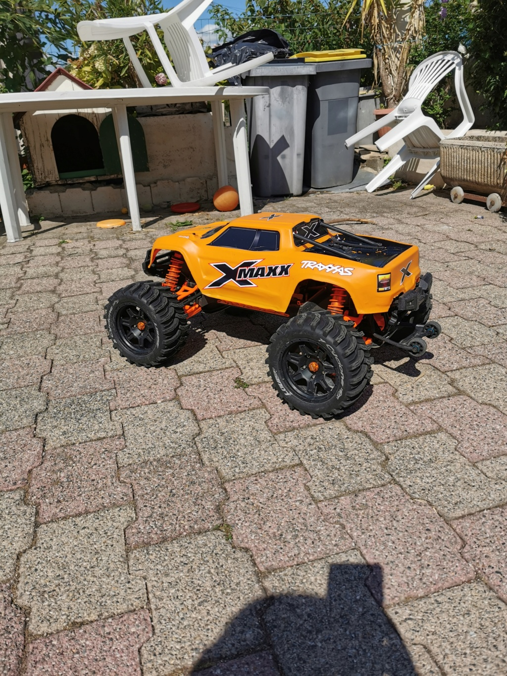 Xmaxx orange mécanique  - Page 3 Img_2034