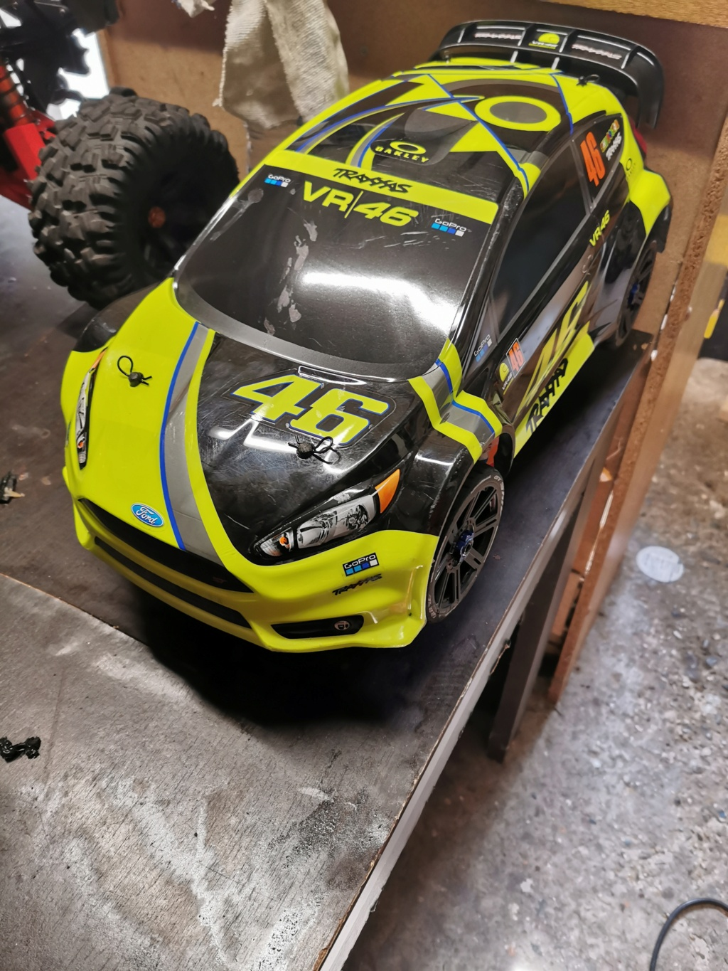 [vends] Traxxas Ford fiesta St  Img_2058