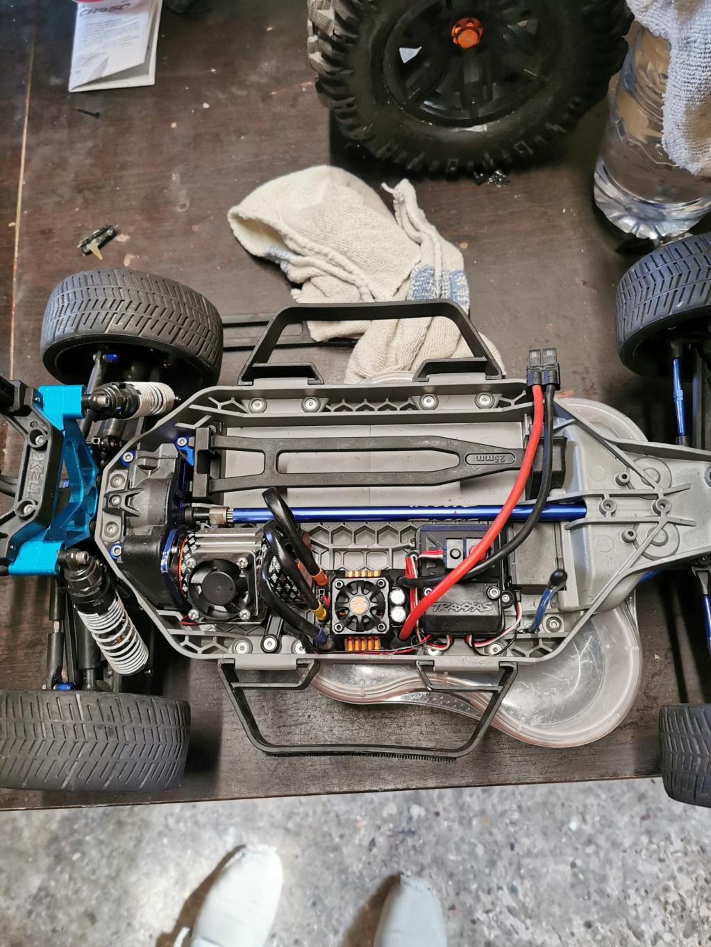 [vends] Traxxas Ford fiesta St  Img_2059