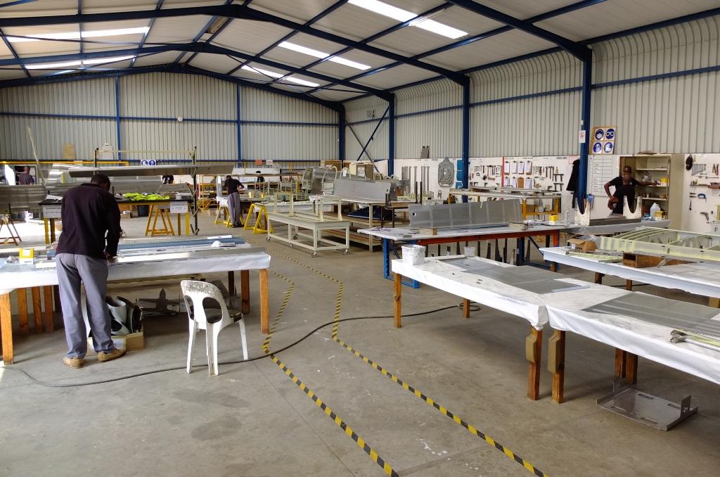 Visite chez TAF : concepteur et constructeur des kits sling 0008510
