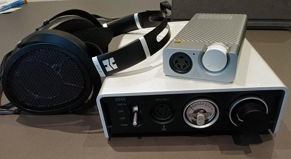 Jade 2 e amplificatori Stax D10/D50 20200710