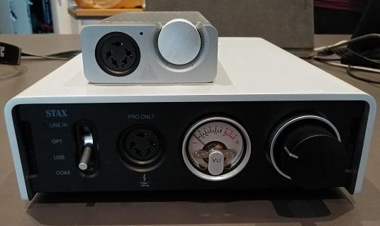Jade 2 e amplificatori Stax D10/D50 20200712