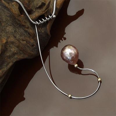 Perle sculptée en bague Edison11