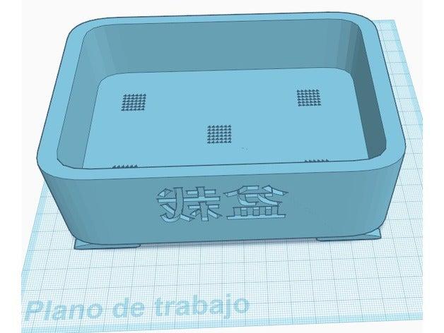 Impresión 3D. Mesa y maceta bonsai  4d5f1310