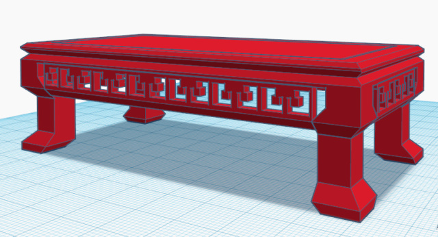 Impresión 3D. Mesa y maceta bonsai  Bonsai10
