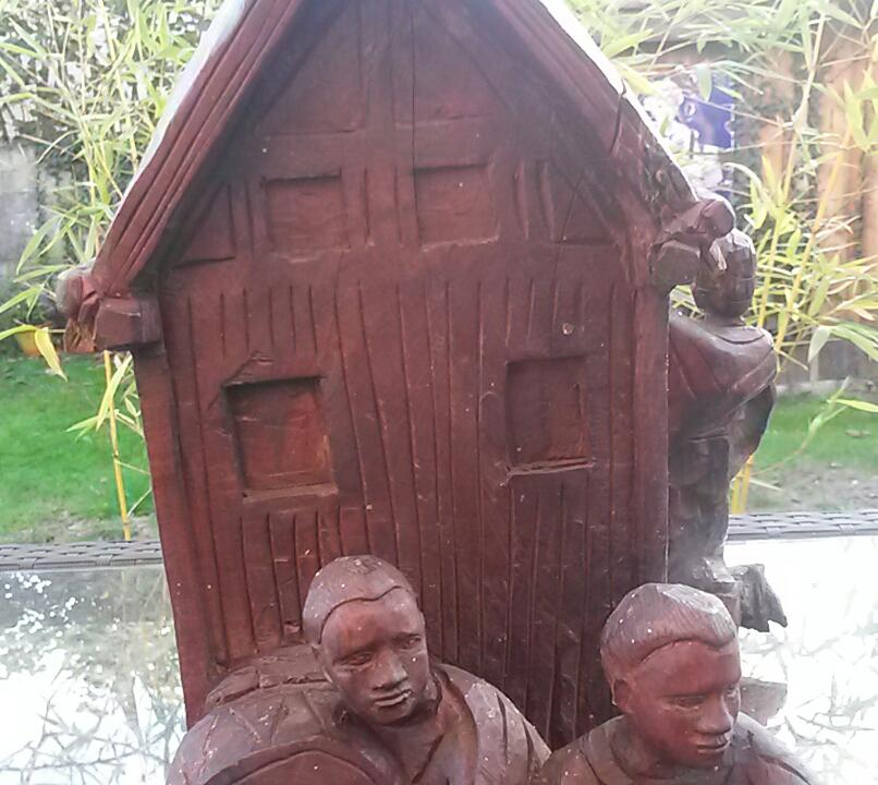 sculpture en bois madagascar ZAFIMANIRY 20181154