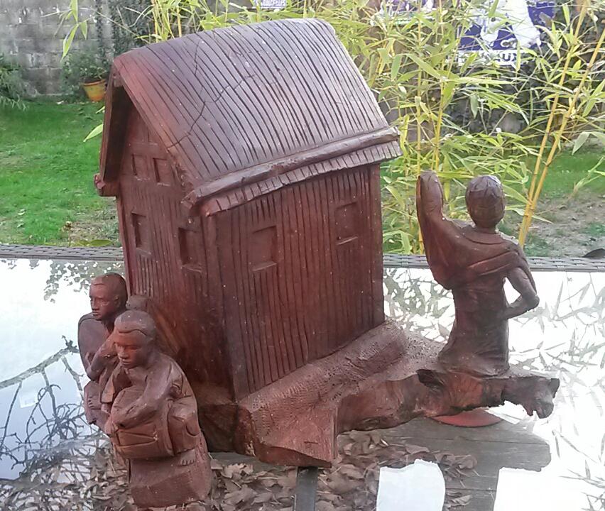 sculpture en bois madagascar ZAFIMANIRY 20181155