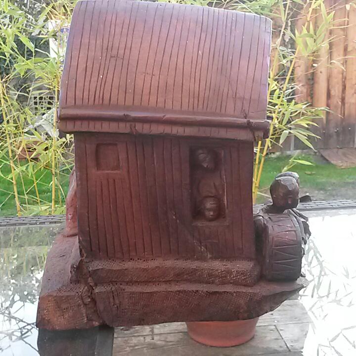 sculpture en bois madagascar ZAFIMANIRY 20181157