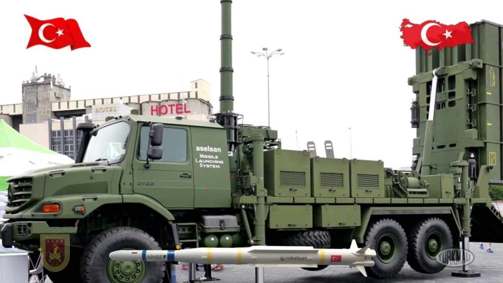 """نظام الدفاع الجوي  محلي الصنع التركي """"حصار Hisar Maxres11"""