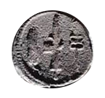 Denario de la gens Norbana. Espiga, hacha con fasces y caduceo. Roma. 16b10
