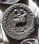 Denario de la gens Fonteia. El genio de Júpiter a lomos de la cabra Amaltea. Roma. 17b10