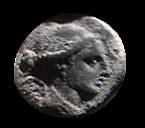 Denario de la gens Valeria. L. VALERI - FLACCI.  Marte estante a izq. Roma. 22a10
