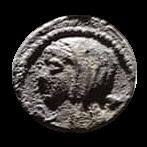 Denario de la gens Cassia. LONGIN III V. Ciudadano votando en urna. Roma. 27a10