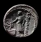 Denario de la gens Cassia. LONGIN III V. Ciudadano votando en urna. Roma. 27b10