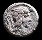 Denario de la gens Julia. L. IVLI. BVRSIO. Victoria guiando cuádriga a galope a dcha. Roma. 2a10