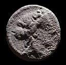 Denario de la gens Volteia. M. VOLTEI. M. F. Ceres en una biga tirada por serpientes a dcha. Roma. 32a10