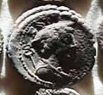 Denario de la gens Mamilia. C. MAMIL LIMETAN. Ulises regresando de viaje con su perro Argos. Roma. 34a10