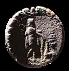 Denario de la gens Mamilia. C. MAMIL LIMETAN. Ulises regresando de viaje con su perro Argos. Roma. 34b10