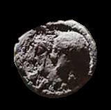 Denario de la gens Sulpicia. C. SVLPICI. C. F. Dos soldados estantes, en medio cerda. Roma. 38a10
