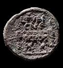 Denario de la gens Furia. L. FVRI CN. F. Silla curul entre dos fasces con hachas. Roma. 41b10