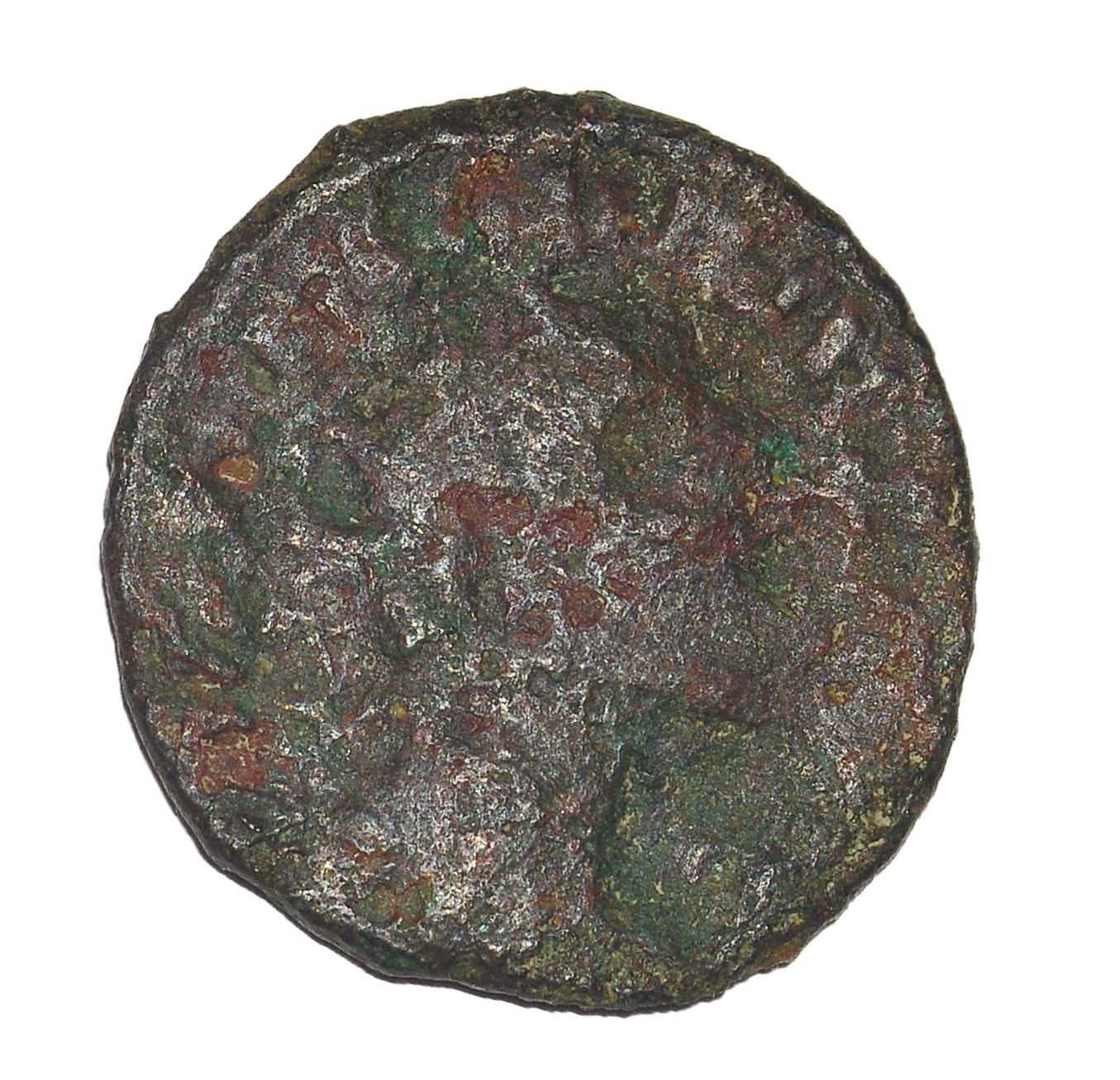 Antoniniano de Claudio II. FORTVNA REDVX. Fortuna a izq. Roma 47_a10
