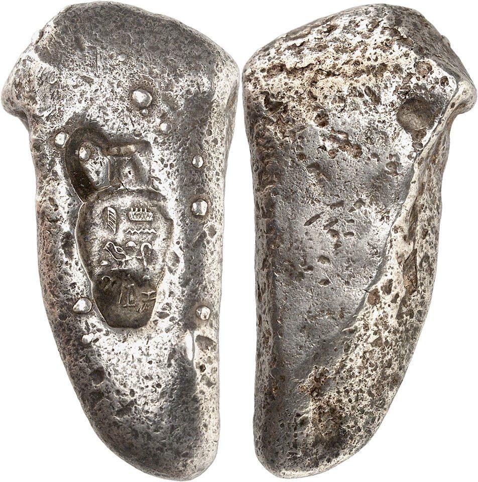 Lingote argénteo de Tutankamón como la primera moneda del mundo 75380210
