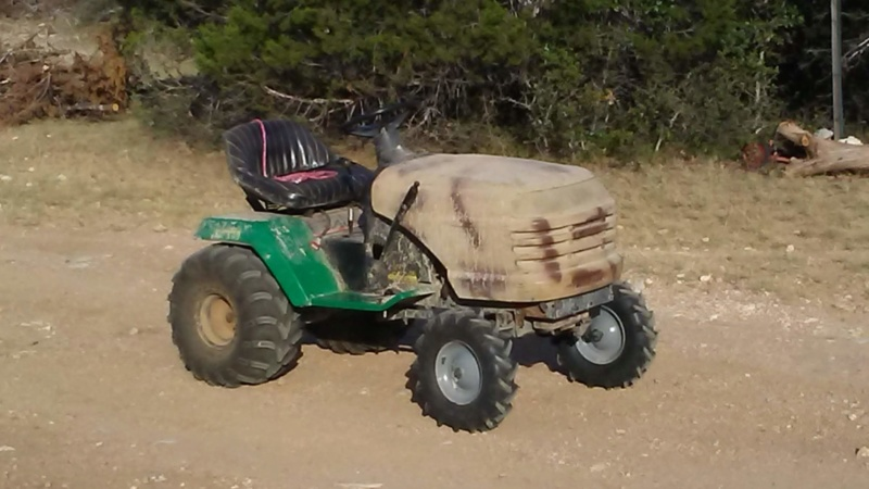 """1999 WeedEater Mowing Mower Build """"Sodzilla"""" - Page 3 20180628"""