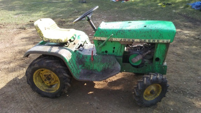 """tractor - [Complete] John Deere 110 """"Sub-Compact Tractor"""" Build [2018 Build-Off Entry]  - Page 16 20181115"""