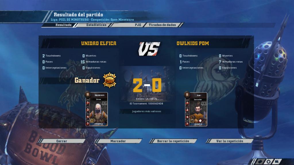 Open Minotauro Otoño 2018 - Retos e Informes de partidos 2-0_1710
