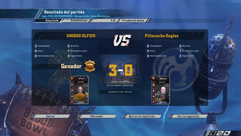 Open Minotauro Verano 2018 - Retos e Informes de partidos 3-0_2110