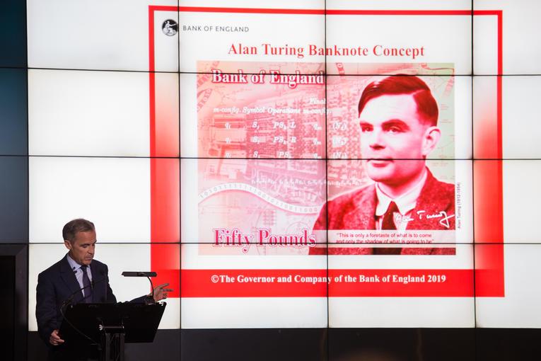 Royaume-Uni.Le mathématicien Alan Turing, nouveau visage des billets de 50 livres 000_1i10