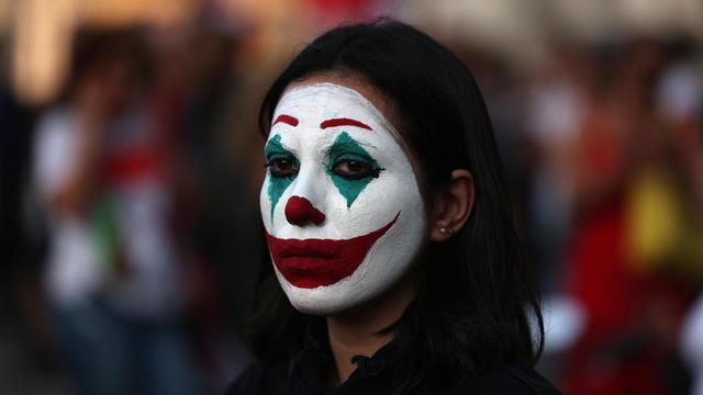 Liban, Chili, Hong Kong...Le Joker devient un symbole des soulevements populaires 000_1l11