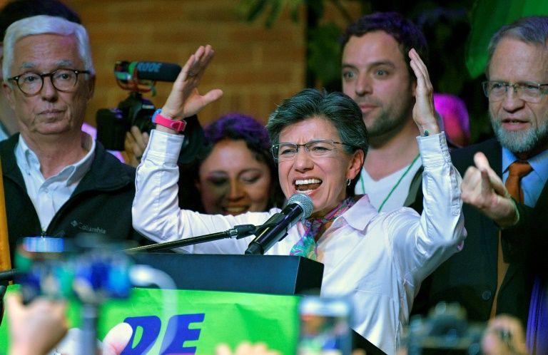 Colombie : Claudia Lopez, la première femme élue maire de Bogota 12645710