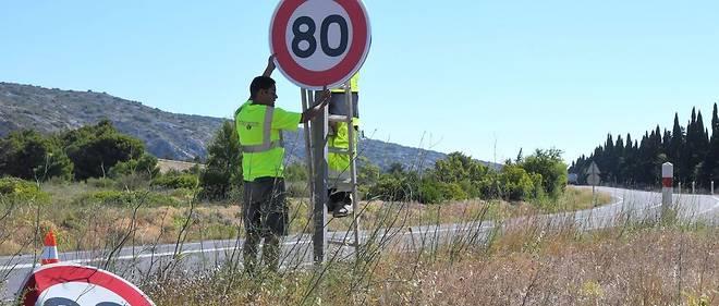 Retour au 90 km/h ou pas, les élus manipulés par Matignon 19872810