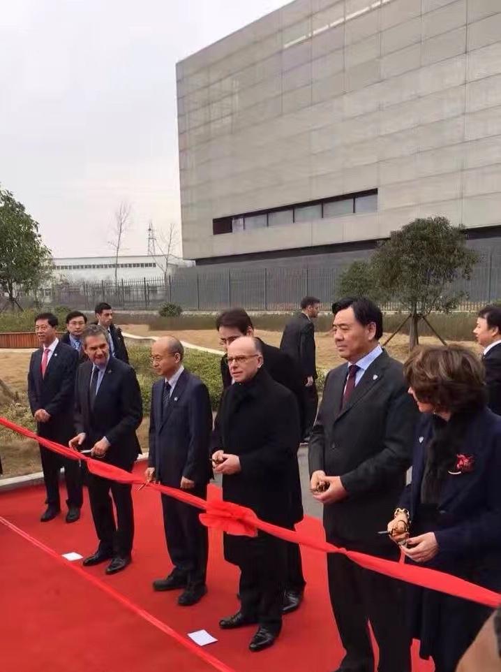 Voyage officiel du Premier Ministre en Chine, visite du laboratoire P4 de Wuhan 3-81-410