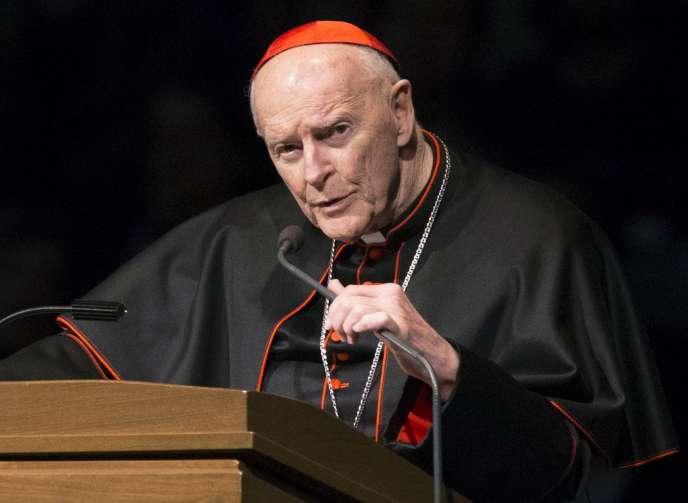 L'ex-cardinal McCarrick, accusé d'agressions sexuelles 32702d10