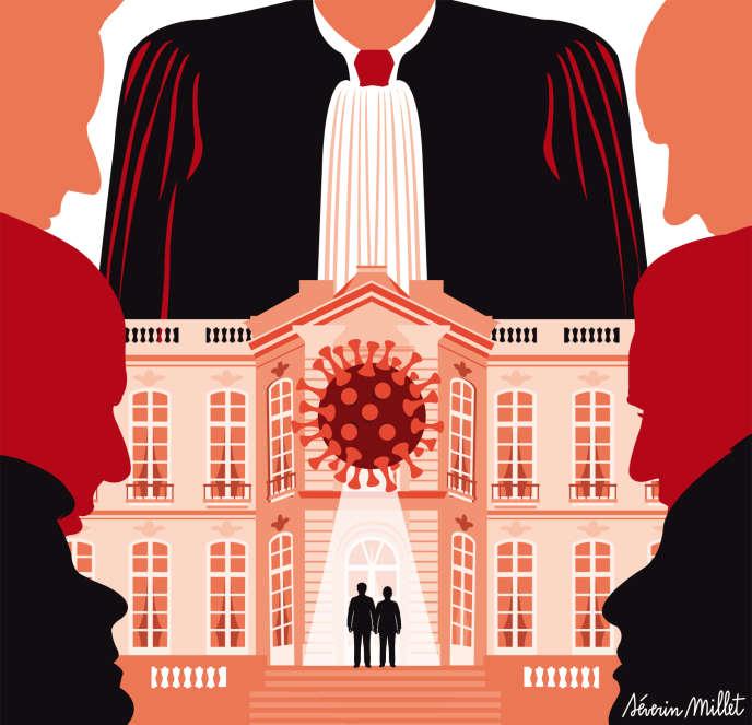 Coronavirus : l'exécutif face à la menace de suites judiciaires 8495d010