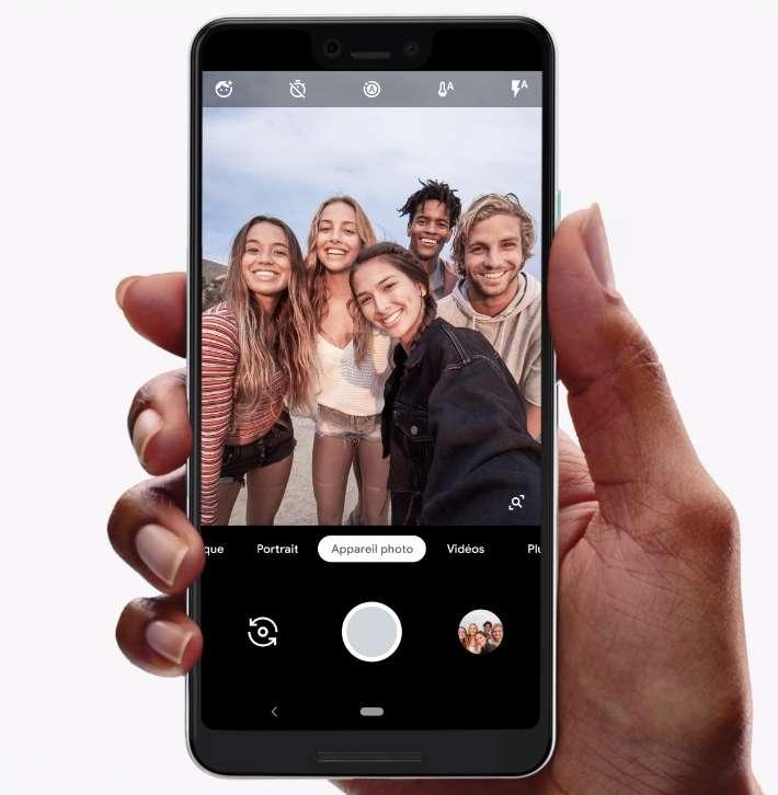 Google annonce l'arrivée de ses smartphones Pixel 3 et Pixel 3 XL Adb9c810