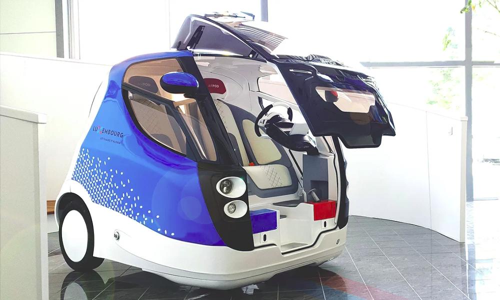 Cette mini voiture inventée par des Niçois se recharge avec… de l'air Airpod10