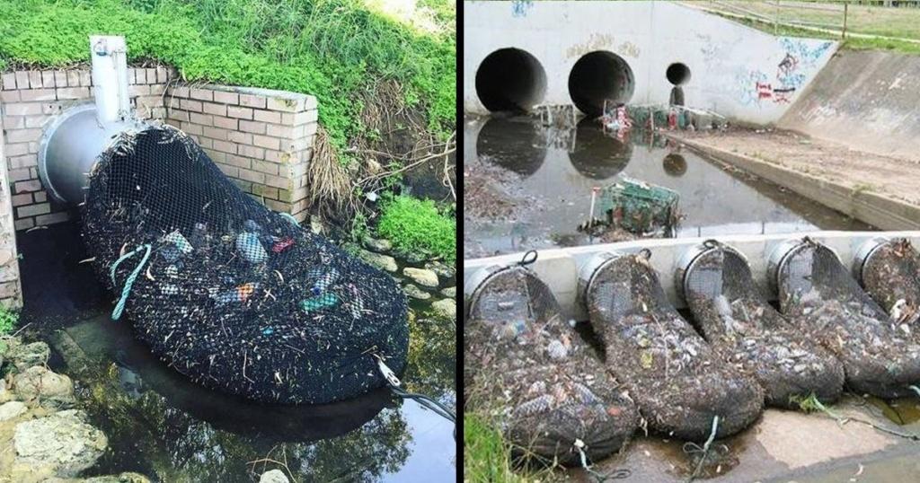 L'Australie a découvert un moyen ingénieux de supprimer la pollution plastique de ses cours d'eau Austra10