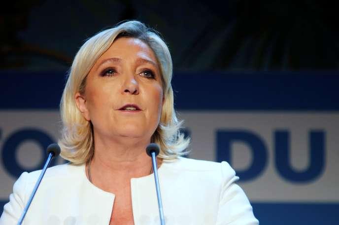 Mise en examen prochaine de Marine Le Pen pour avoir dévoilé un document judiciaire B4b30510