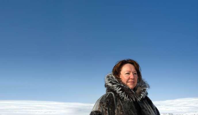 Sheila Watt-Cloutier : « L'Arctique est le système de climatisation de la planète et il est en train de se casser » C7fa6110