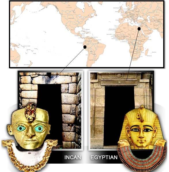 Censuré par les chercheurs : le mystère des cultures jumelles séparées par l'océan atlantique – Les Incas et les Egyptiens Egypte10